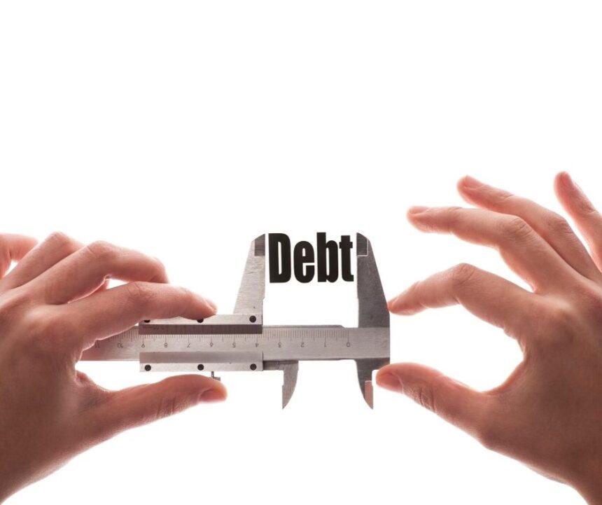 clamp compressing debt