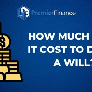How much does it cost to draft a Will?